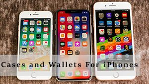 Cases and Wallets For iPhones