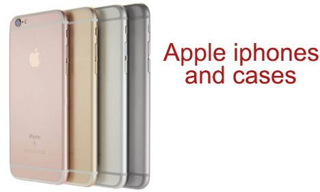 Apple iPhones and Cases